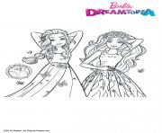 Princesses Chevelures Magiques dessin à colorier