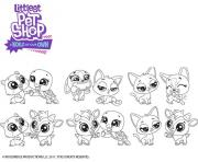 High Five Petshop dessin à colorier