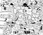 le monde merveilleux de gumball cartoon tele dessin à colorier