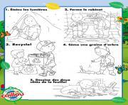 cinq facons de celebrer le jour de la terre avec caillou enfants dessin à colorier
