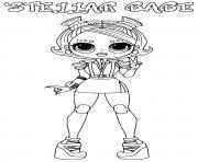 stellar babe lol omg dessin à colorier