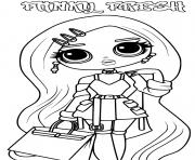 Coloriage Lol Omg Logo Canylicious Girl dessin