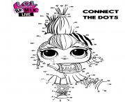 LOL Surprise Remix Connect The Dots dessin à colorier