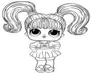 Oops Baby LOL Big Sister Free Printable dessin à colorier