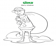 Coloriage Merry Whatever Grinch