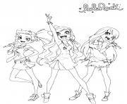 Free Printable LoliRock Coloring Page dessin à colorier