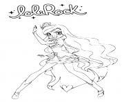 LoliRock Iris Princess of Ephedia Coloring Page dessin à colorier