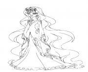 Reine d Ephedia Lolirock dessin à colorier