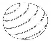 ballon dessin à colorier