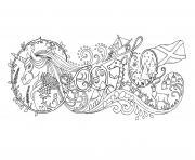 Adulte Doodle Google Par Johanna Basford dessin à colorier