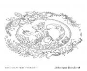 Coloriage Squirrel From Enchanted Forest