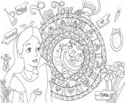 Coloriage princesse cendrillon disney adulte