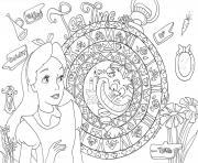 princesse cendrillon disney adulte dessin à colorier