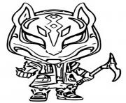 funko pop fortnite drift dessin à colorier