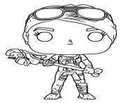 funko pop fortnite brite bomber dessin à colorier