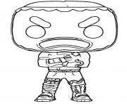 funko pop fortnite merry marauder dessin à colorier