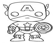 Coloriage funko pop bt21 rj dessin