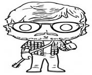 funko pop rock ed sheeran dessin à colorier