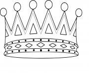 couronne ps maternelle dessin à colorier