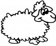 dessin d un mouton dessin à colorier