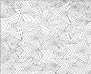 etoile adulte mandala dessin à colorier