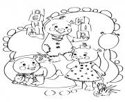 les enfants de shrek et fiona dessin à colorier