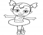 bebe vampirina disney dessin à colorier