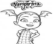 vampirina disney dessin à colorier