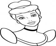 Coloriage princesse jasmine dessin
