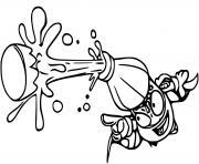 superzings fizzer dessin à colorier
