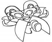 superzings mad blades dessin à colorier