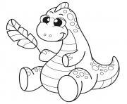 dinosaure pour enfants dessin à colorier