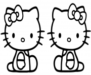 Coloriage mimmy and kitty