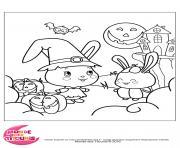 coloriages titounis halloween dessin à colorier