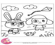 titounis vacances dessin à colorier
