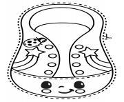 Cocomelon_shoelace dessin à colorier