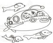 the octonauts explore octonauts dessin à colorier
