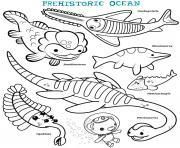 prehistoric ocean octonauts dessin à colorier