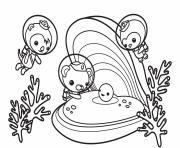 the octonauts find a happy pearl octonauts dessin à colorier