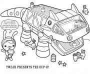 tweak presents the gup g octonauts dessin à colorier