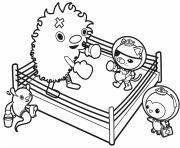 kwazii shadow boxing octonauts dessin à colorier