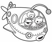octonauts off to adventure octonauts dessin à colorier