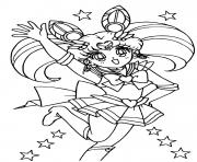 Sailor Mini Moon dessin à colorier