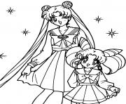 Sailor Moon Stars dessin à colorier