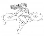 Captain Marvel Avengers Endgame By JamieFayX dessin à colorier