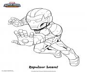 iron man marvel super heros dessin à colorier