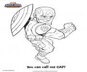 Captain America marvel super heros dessin à colorier