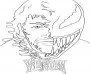 Venom Marvel dessin à colorier