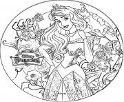 Coloriage disney princesse aurore