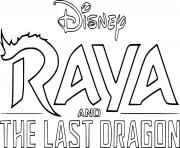 Disney Raya and the Last Dragon dessin à colorier